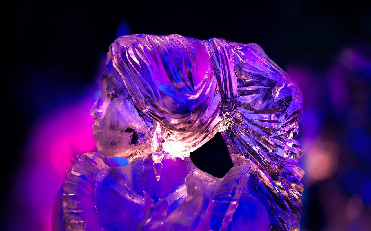 Statue di ghiaccio
